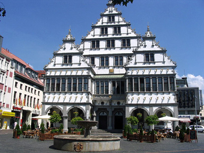 Paderborn's City Hall